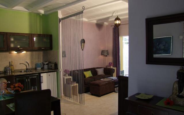 Papaya Wohnzimmer