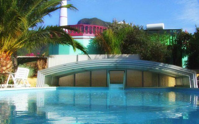 Pool 5x10m beheizt durch Sonne